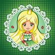 Summer shine princess portrait – series 3/  4