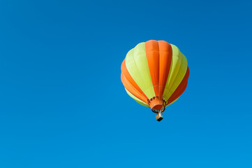 Colorful fancy Balloon floating in the sky
