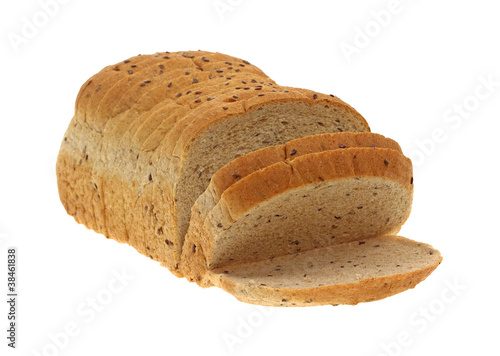 Flaxseed Sliced Bread at an Angle