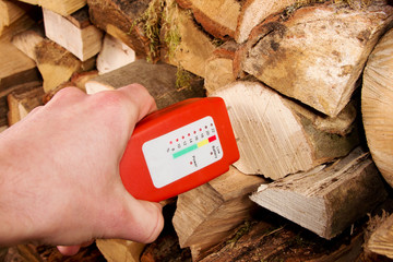 Messgerät Holzfeuchtigkeit