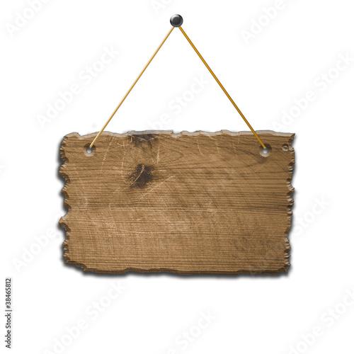 altes Holz Schild