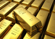 Rows of gold bars