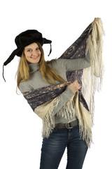 Demonstrate her kerchief