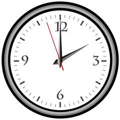 Uhr - Uhrzeit 2 am / pm