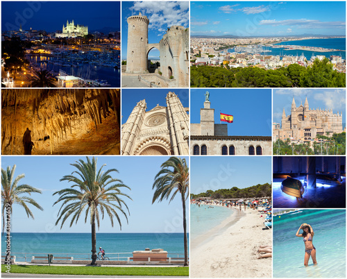 Collage Palma De Mallorca