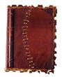 Altes Tagebuch mit Ledereinband