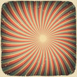Grunge swirl rays retro background. Vector illustration, EPS10