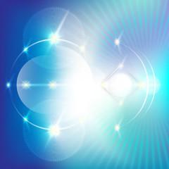 abstrakter hintergrund - hals energie