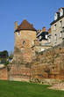Old keep at Le Mans in France