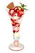 Erdbeer-Eisbecher