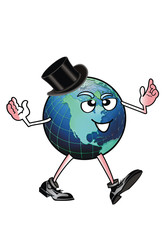 World Man With a Top Hat.