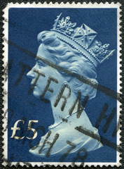 UNITED KINGDOM - CIRCA 1970s: A postage stamp printed in United