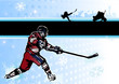 ice hockey background 2