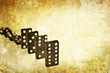 domino backdrop