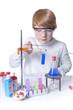 Junger Chemiker