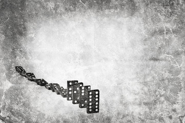 grunge domino line