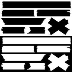 Tape Set Black & White