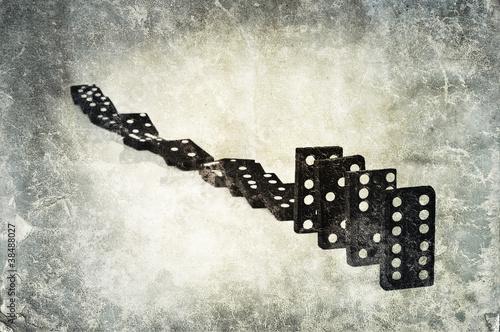 grunge dominos