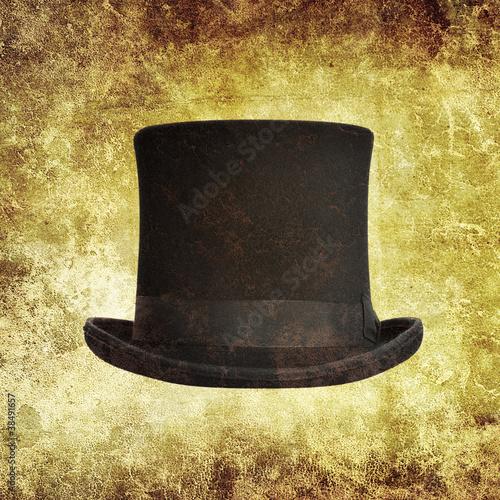 top hat print
