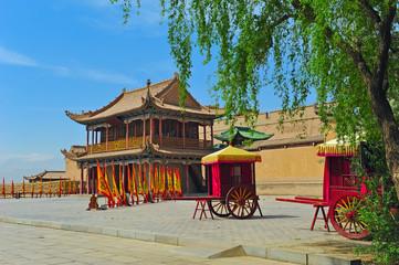Jiayuguan Pass of China