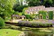 Leinwandbild Motiv Cotswold village of Bibury, England