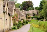 Fototapety Houses of Arlington Row in the village of Bibury, England