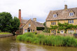 Picturesque Cotswold village of Lower Slaughter, England