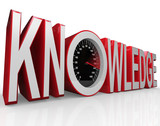 Knowledge Speedometer Word Learning is Power