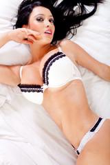 Sensual woman in underwear