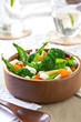 Broccoli , Beans and Barley salad