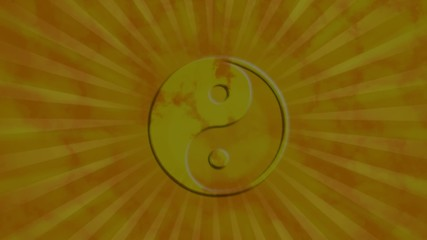 yin yang himmel animation video gold