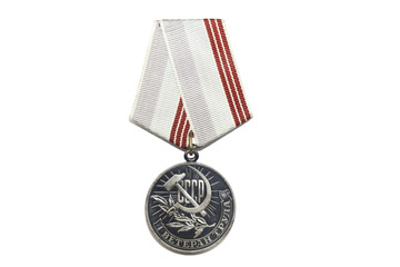 Veteran medal for their work