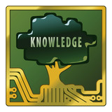Knowledge Tree Circuit Board Assembly poster