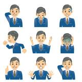 ビジネスマン C 表情2