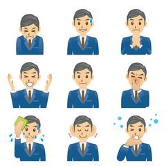 ビジネスマン C 表情3