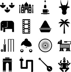 India pictograms