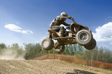 quad flying