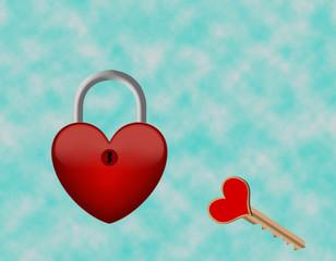 lucchetto del cuore
