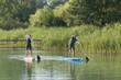junges Paar beim Wassersport