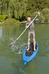 wackeliger Wassersport