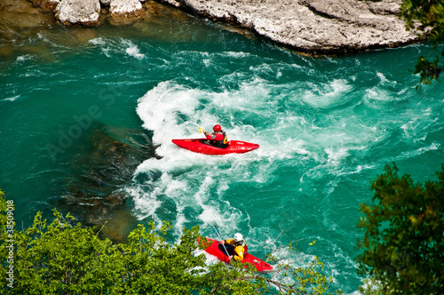 Whitewater kayak