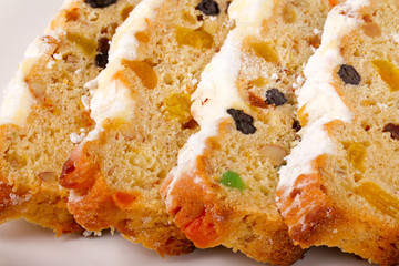 Stollen - German traditional Christmas cakes
