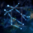 Gemini constellation and symbol