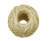 ball of twine on a white background poster