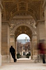 dessous carrousel du Louvre