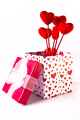 Valentine's Gift Box and Bouquet