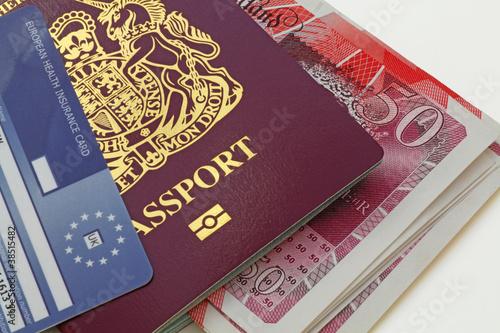 uk bio  passport money health card