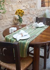 Traditional mediterranean restaurant