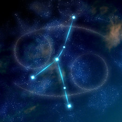 Cancer constellation and symbol