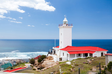 lighthouse in Mossel bay, south africa